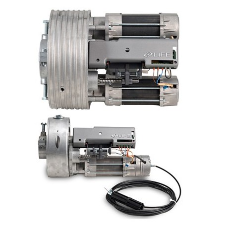 Motores para puertas antirrobo tenax 160 f for Motores para puertas